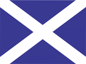 Escocia Bandera